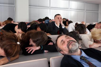 Boring Training Meetings