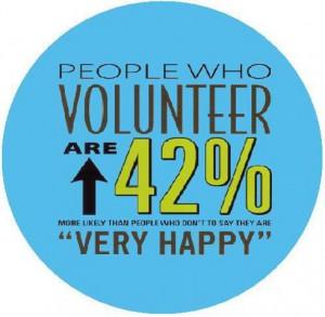 infographic people who volunteer