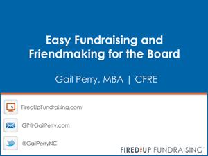 Board Fundraising