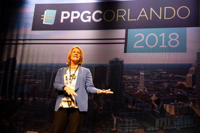 Gail Perry speaking